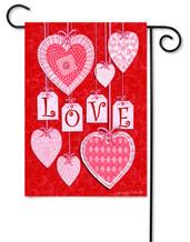 Custom Décor Valentine Garden Flag