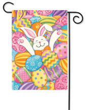 Custom Decor Easter Egg Garden Flag