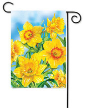 Spring decorative garden flag
