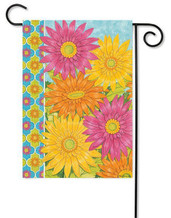 Decorative summer garden flag