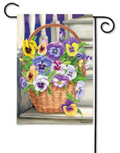 Spring decorative outdoor garden flag