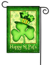 Custom Decor St. Patrick's Day Garden Flag