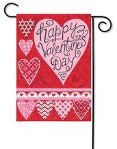 Custom Décor Valentine Garden Flag