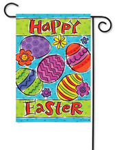 Custom Decor Easter Garden Flag