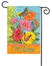 Summer decorative garden flag