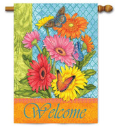 Summer decorative outdoor house flag