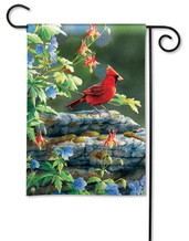 BreezeArt Decorative Cardinal Garden Flag