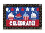 Patriotic MatMates Doormat - Tray sold separately.