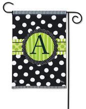 Monogram Garden Flag - Letter A