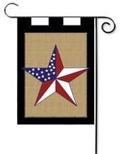 Deluxe Applique Garden Flag