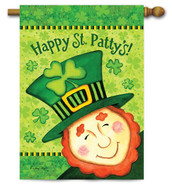 Toland St. Patrick's Day House Flag