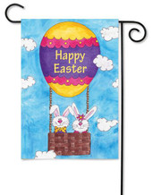 Easter decorative garden flag