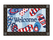 MatMates Welcome Doormat - Tray sold separately.
