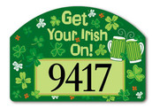 Get Your Irish On Yard Design