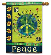 BreezeArt Peace Flag