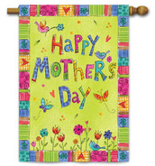 Happy Mother's Day House Flag