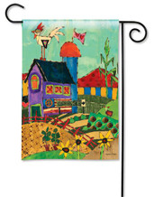BreezeArt summer garden flag