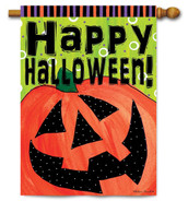 Outdoor Halloween House Flag