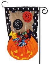 3-D Halloween garden flag