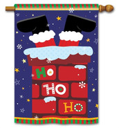 BreezeArt Christmas House Flag
