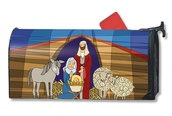 Nativity Mailwrap Mailbox Cover