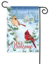 Cardinals decorative garden flag by Flag Trends