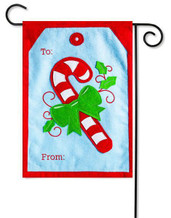 Christmas decorative garden flag