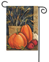 Autumn outdoor garden flag