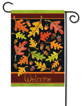 Fall outdoor garden flag