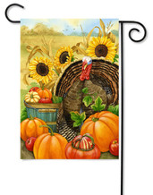 Toland decorative Thanksgiving flag