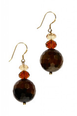 Brown onyx tears