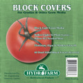 HYDROFARM - BLOCK COVERS 4IN 40PK