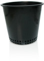 HYDROFARM - MESH BOTTOM POT BLACK 8""