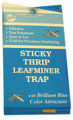 WHITMIRE - BLUE STICKY LEAFMINER TRAP