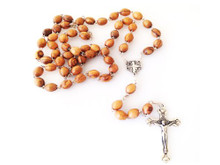 Rosary with Jerusalem cross