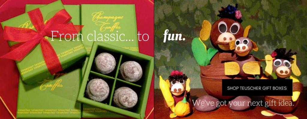 chocolate gift boxes teuscher