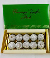 "BUY 2 GET 1 FREE: Champagne ""PEARLS""  - 10 pieces"
