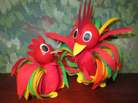 Rooster (2 or 6 pcs)