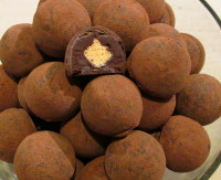 Dark Champagne Truffles - 9, 16, 24 , 36, 48 & 72 pieces