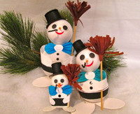 Snowman Gift Box - 1, 2 or 5 pcs