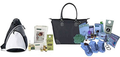 C-Section Essentials Hospital Labor Bag & Baby Bag Bundle Hospital