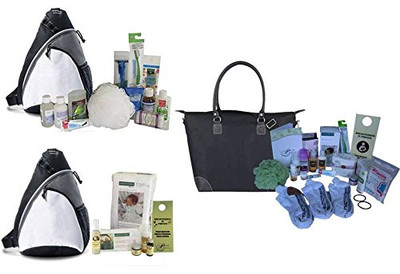 C-Section Essentials Mama Bag, Dad Bag, & Baby Bag Ultimate Bundle