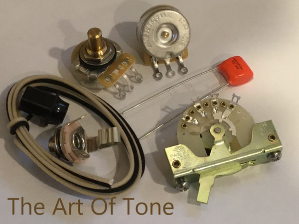 Deluxe TAOT Fender Telecaster Wiring Kit The Art Of Tone