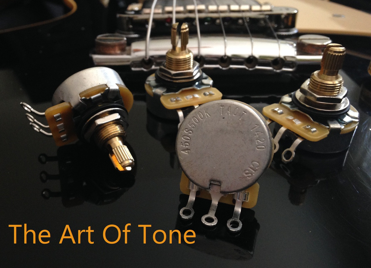 CTS 450G/450S 500K Short Shaft Pots  The Art Of Tone