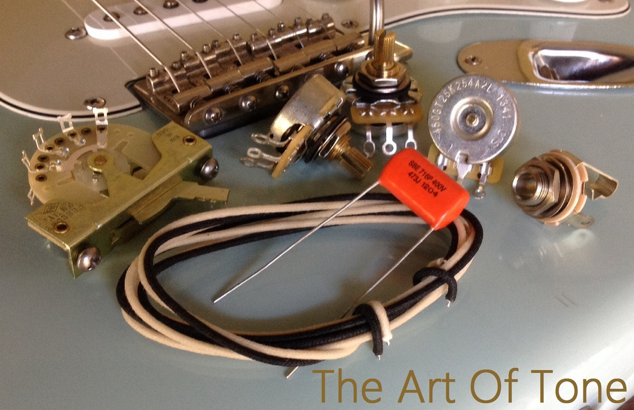 deluxe wiring kit for stratocaster 047 sod cap rh theartoftone com custom guitar wiring kits guitar wiring kits & pre-wired