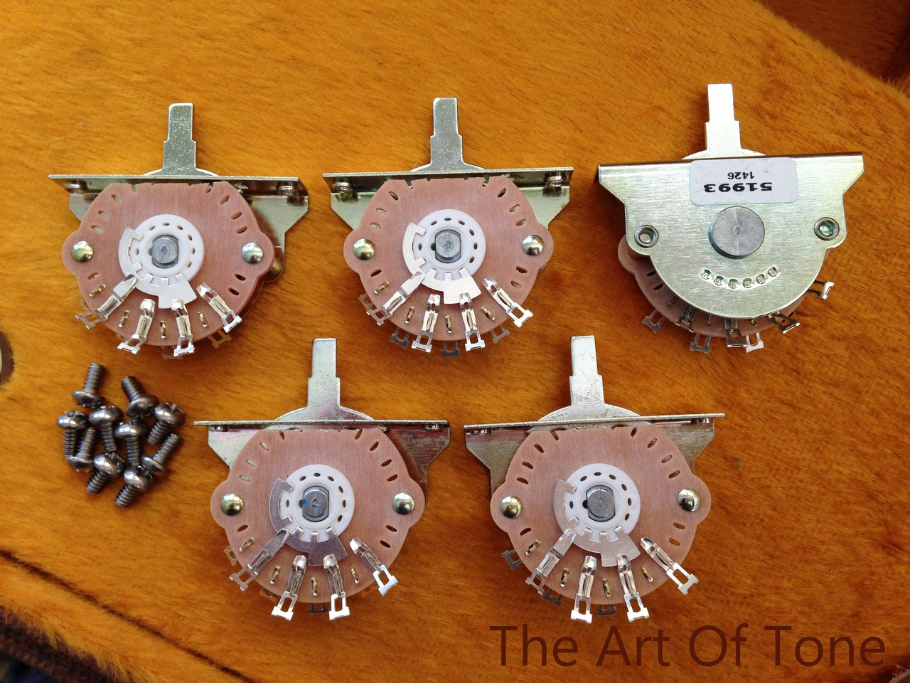 Oak Grigsby 5-way Blade Switch for Stratocaster