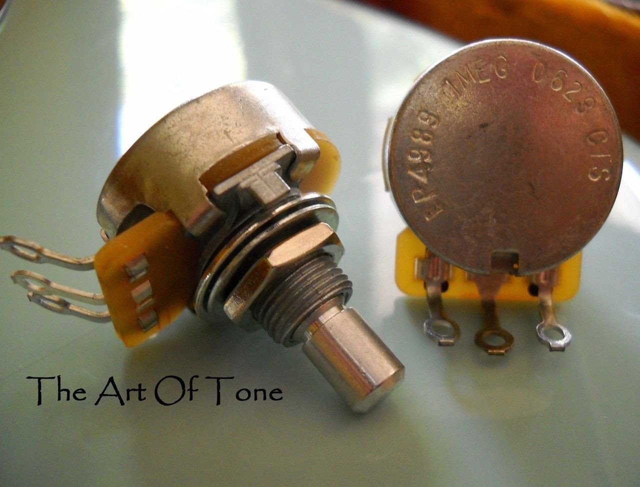 CTS 1 Meg Solid Shaft Pot Potentiometer