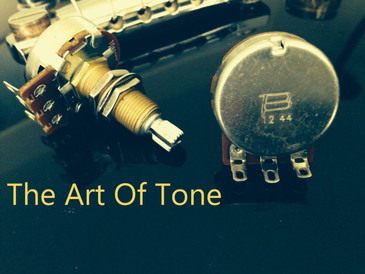 Bourns Long Shaft Audio Taper Pot