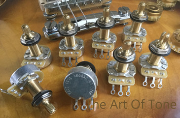 CTS TAOT CUSTOM Vintage Taper Long Shaft Pot  The Art Of Tone