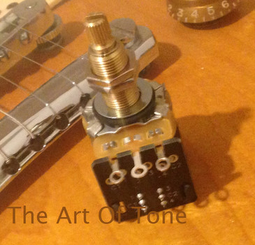 CTS 500K LONG Shaft Push/Pull Double Pole Double Throw Potentiometer  The Art Of Tone